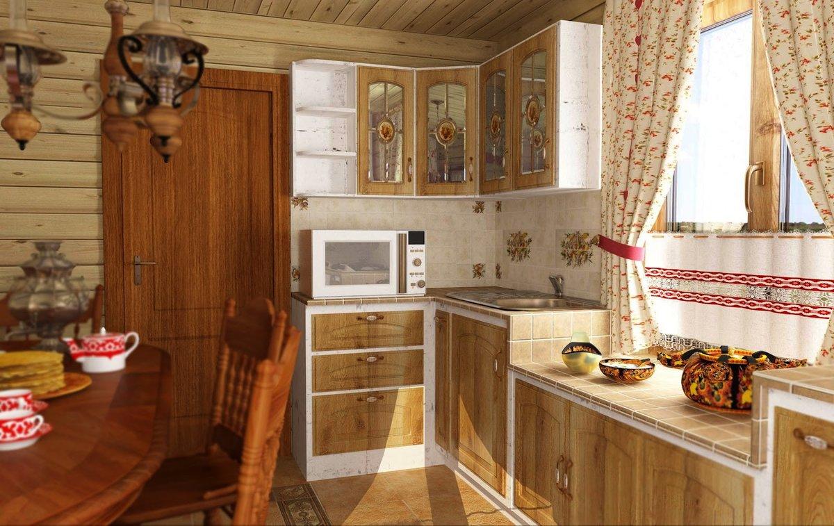 Кухни в деревенском стиле: вернитесь к традициям!