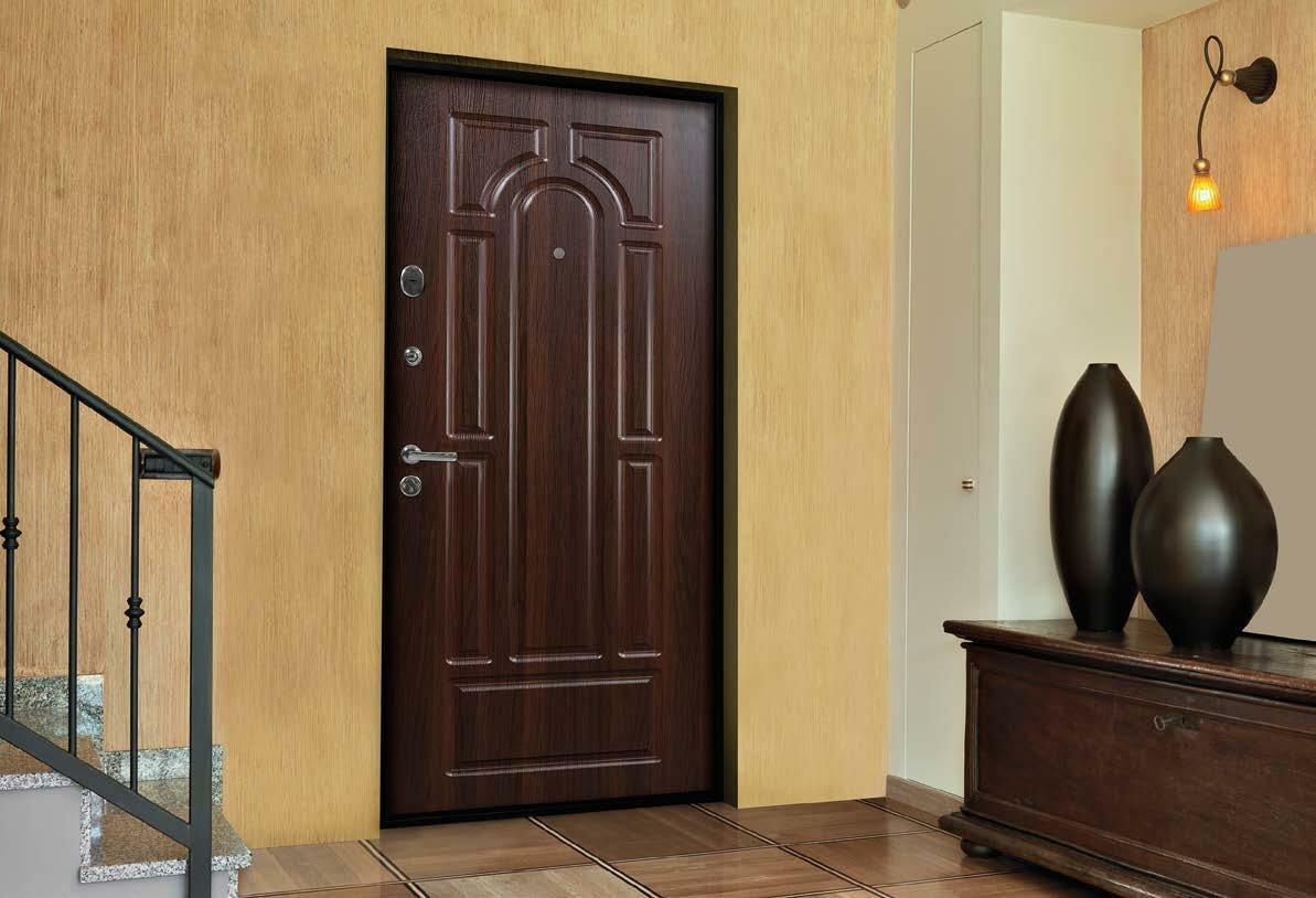 Основные типы входных дверей