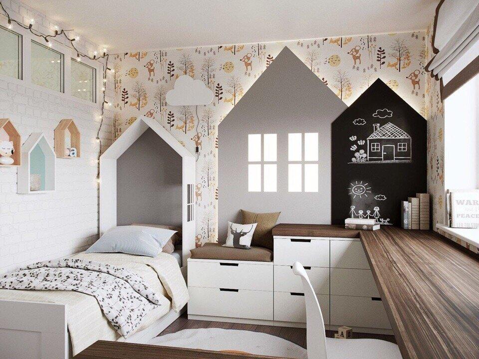 Советы по оформлению детской комнаты в скандинавском стиле